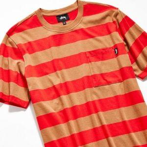 STUSSY Classic Stripe Short Sleeve Shirt